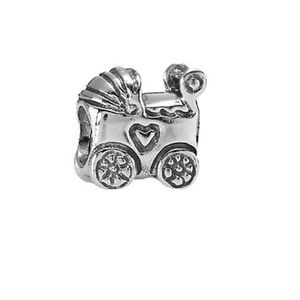 Pandora Sterling Baby Carriage Charm